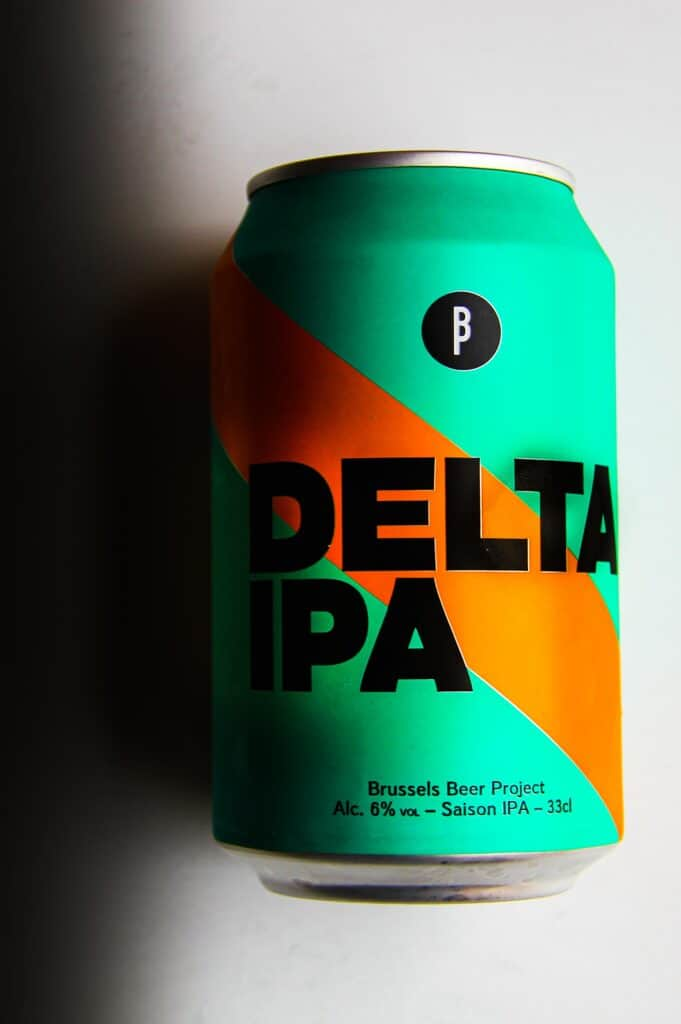 The Delta IPA beer from Brussels Beer Project.