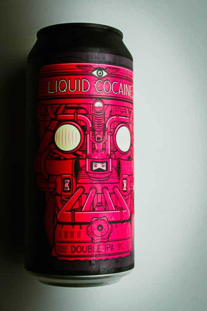 Double IPA - Liquid cocaine can.