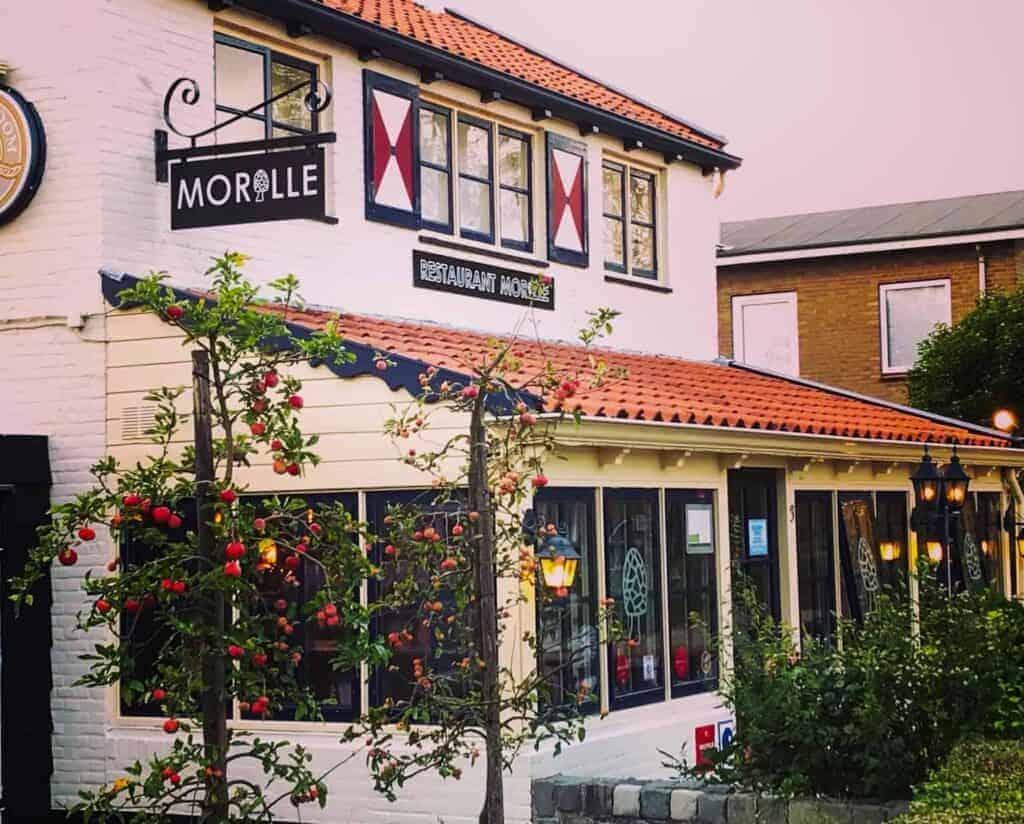 Restaurant Morille in Middelburg, Zeeland.