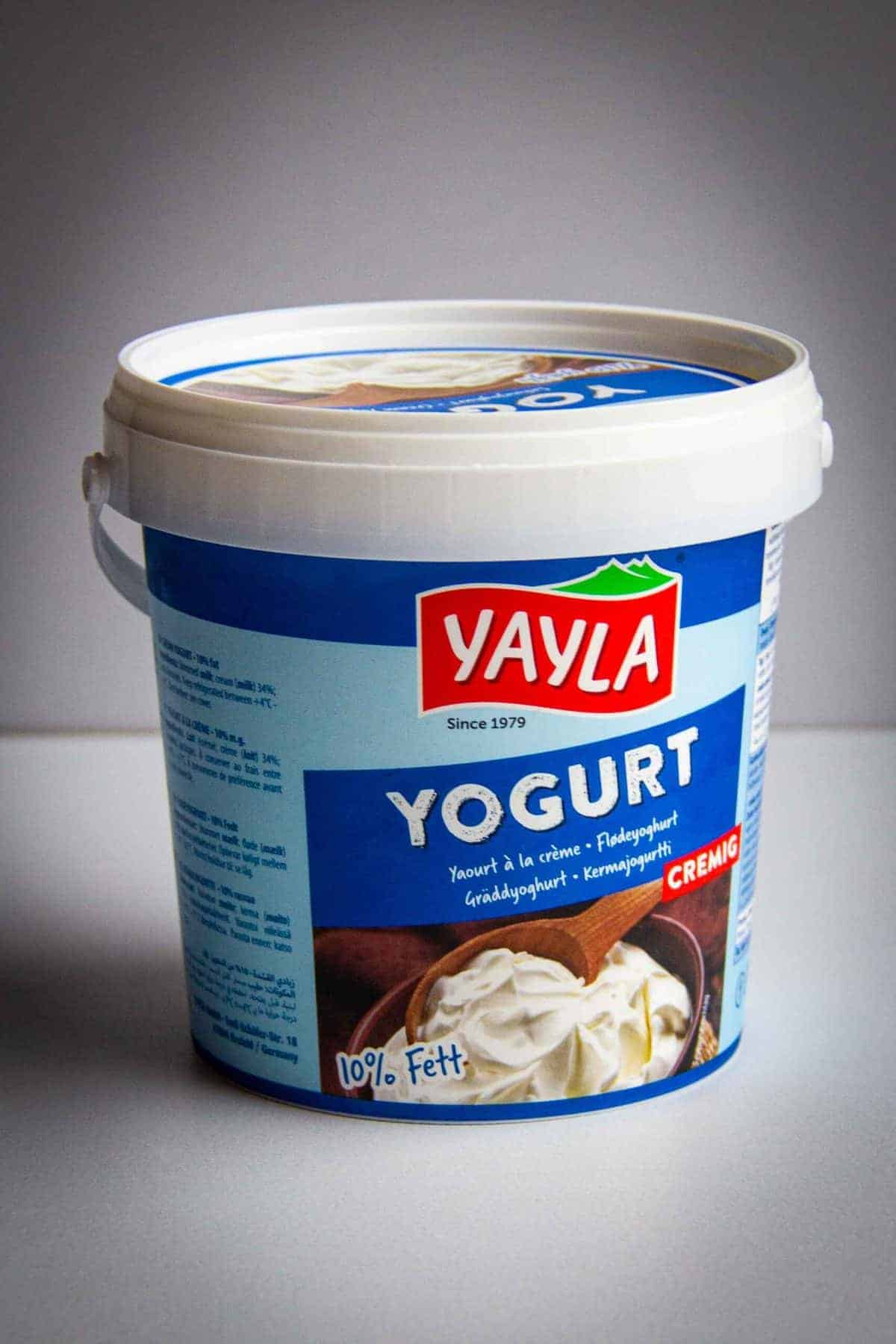 10% turkish high fat yoghurt
