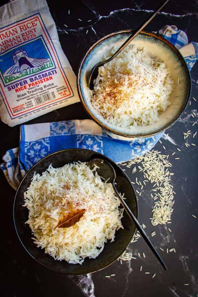 Instant pot basmatic rice
