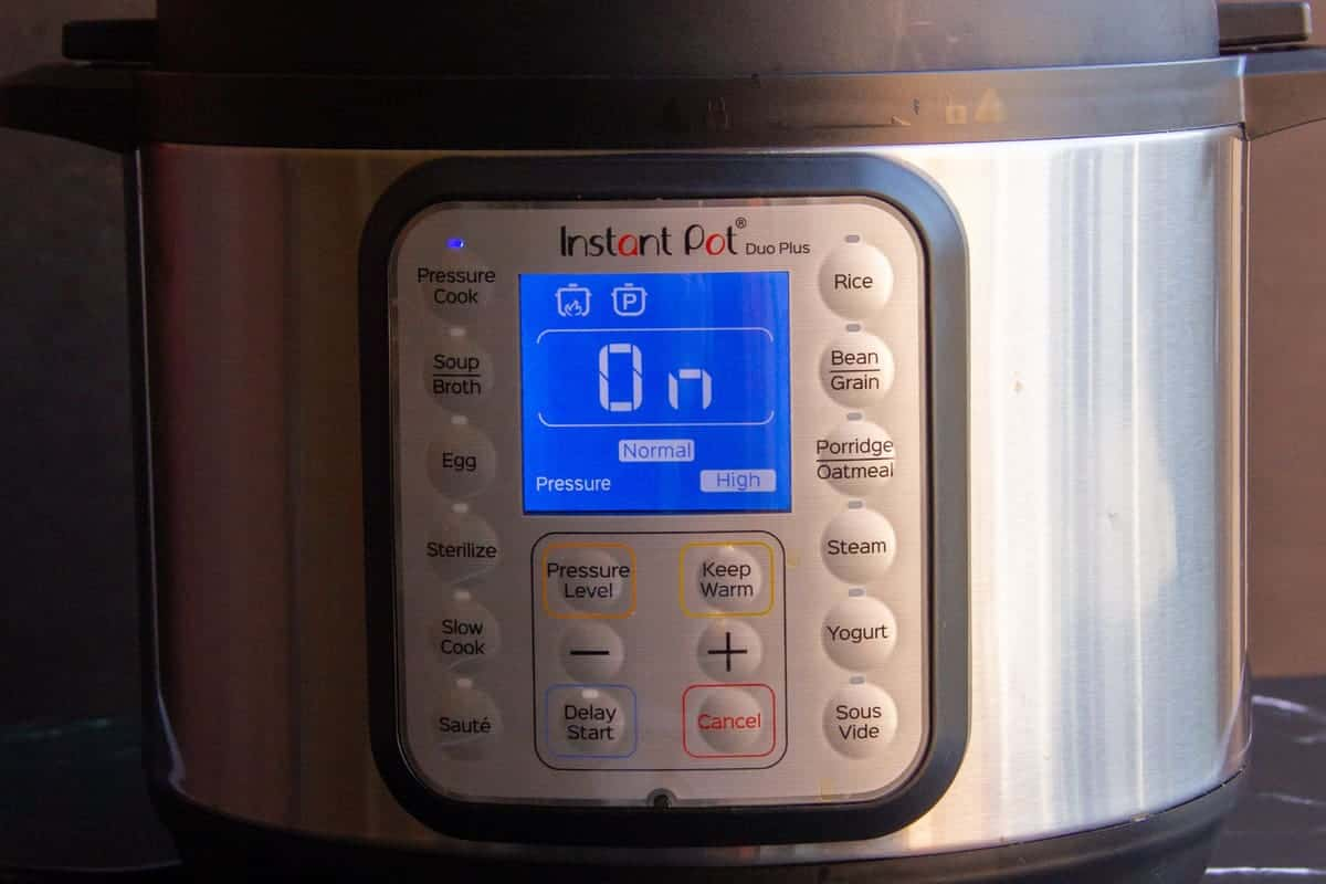 Cooking basmati rice in an instant pot.