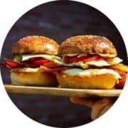 Breakfast-sandwiches-on-a-board