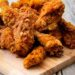 Crispy buttermilk fried chicken with spicy may